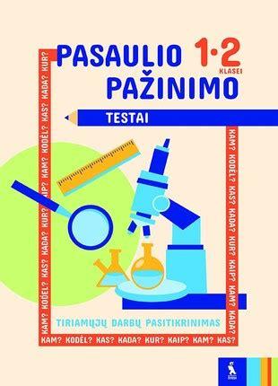 Pasaulio pažinimo testai 1-2 klasei - Knygos.lt