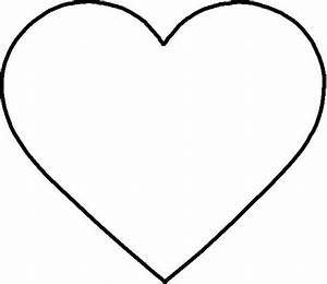 coloring page heart shape new calendar template site With full page heart template