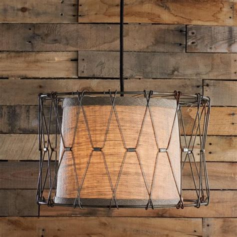 chicken wire basket pendant light metals colors and
