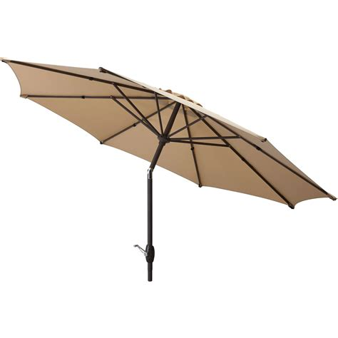 patio umbrellas walmart mainstays 9 market umbrella at garden sensation