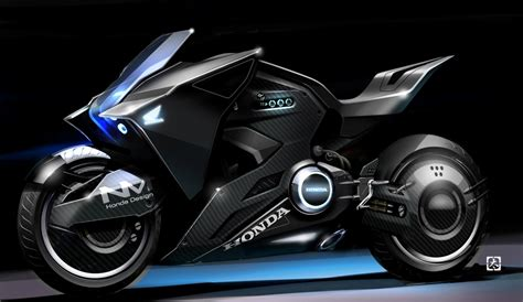 Futuristic Motorcyle : Honda Futuristic Motorcycle Appears In Ghost In The Shell