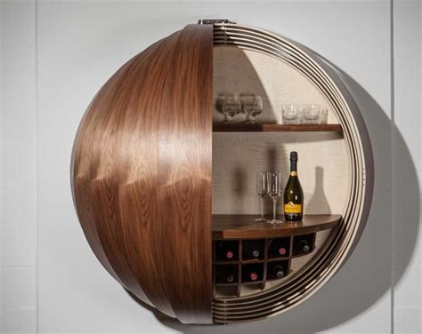 Wall Mounted Bar Cabinets For Home by Dime Cabinet Lets You Put A Gorgeous Mini Bar Coffee