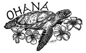 Sea Turtle Tattoo Ohana
