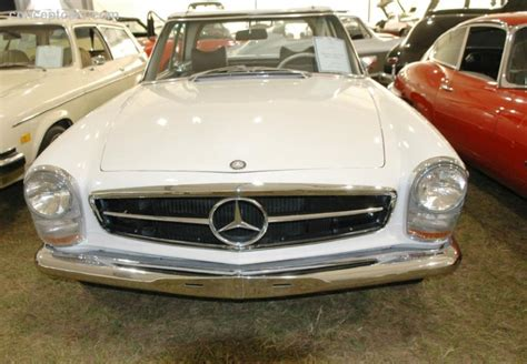 1968 Mercedes-benz 280 Sl Image. Chassis Number