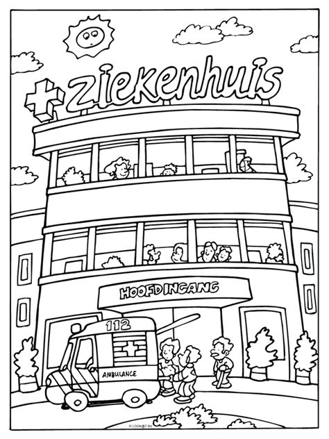 Beterschap Kleurplaat Ziekenhuis Varken by Spelletjes En Kleurplaten Wkz Luchtwegportaalwkz