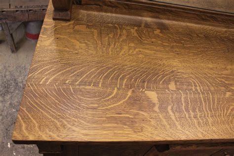 quarter sawn oak white paint removed from a quarter sawn oak buffet work play eat live local