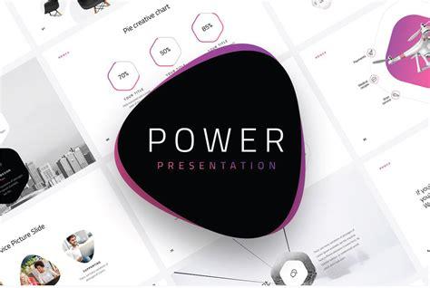 powered template power modern powerpoint template powerpoint templates just free slides