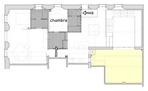 plan chambre parentale plan suite parentale du loft