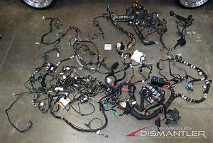 Porsche 911 996 Turbo Manual Cabriolet Complete Chassis Wire Wiring Harness Oem
