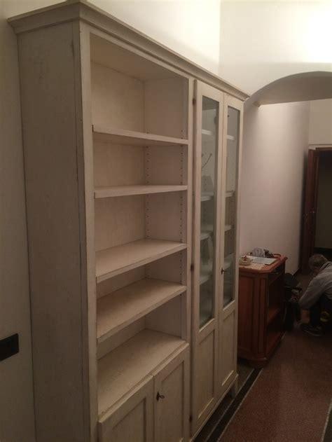 Libreria Su Misura by Librerie E Credenze In Legno Su Misura Fadini Mobili