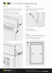 Roof Blind Fitting Instructions
