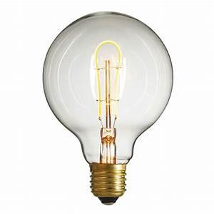 Ampoule Led à Filament : ampoule nud globe ampoule led filament globe 95mm ~ Dailycaller-alerts.com Idées de Décoration