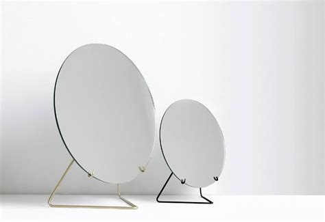 Frameless table mirror designed by Moebe   twentytwentyone