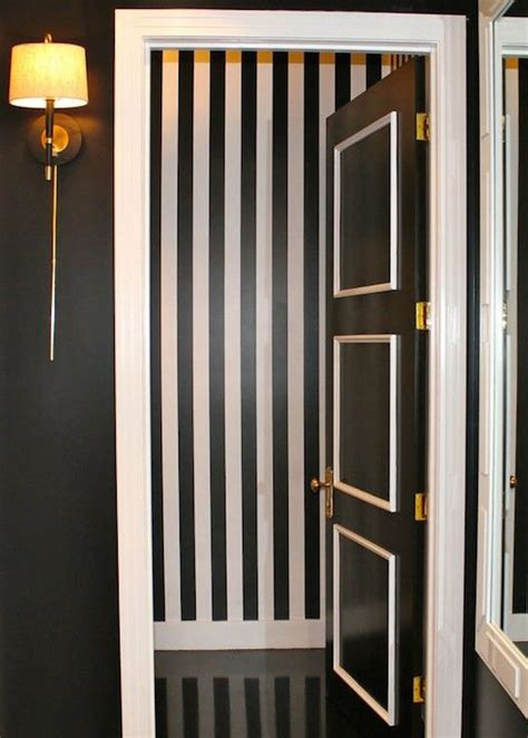 black and white striped wall black and white striped wall design ideas