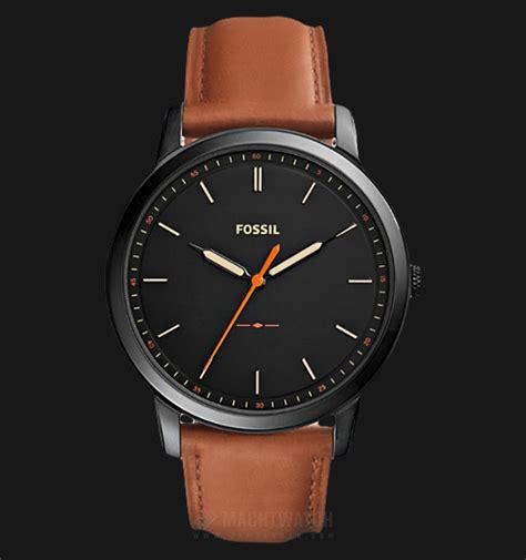 jam tangan nixon brown leather fossil fs5305 the minimalist three black