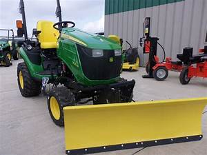 John Deere 1025r With 54 Snow Blade