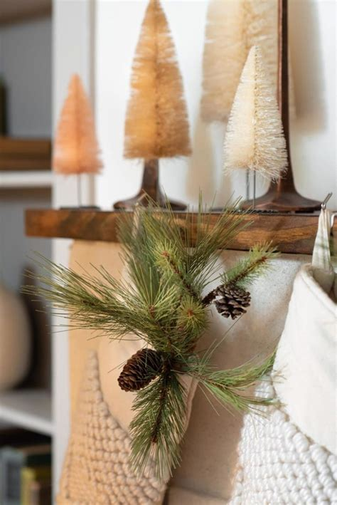 cozy neutral holiday  magnolia christmas tree decorating themes christmas tree