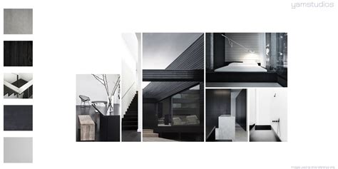 house architectural yam studios mood boards interior design