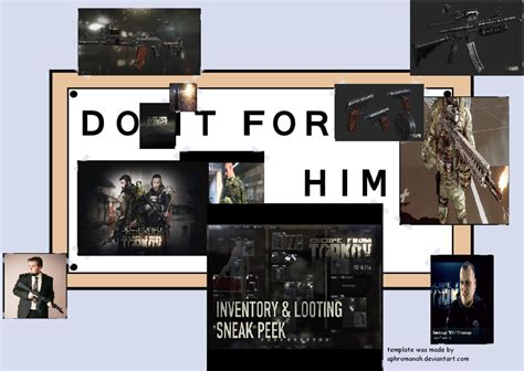 do it for him template meme and fan escape from tarkov forum