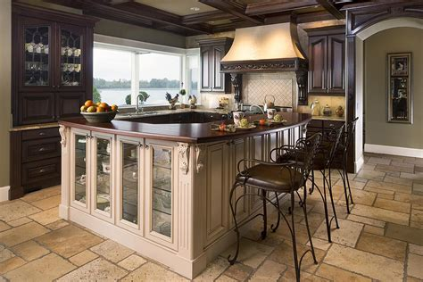 Kitchen floor tiles are not only used in our homes but are also used commercially in industries and here we see unique kitchen floor tiles in earthy colours that resemble natural stone and comprise. Long Lasting Durable Kitchen Flooring Choices