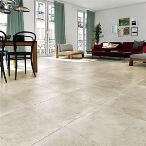 Pierre Et Sol : carrelage sol et mur beige effet pierre monast re x l ~ Melissatoandfro.com Idées de Décoration