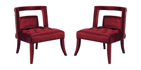 Buy Meridian Furniture Tribeca 546burg Accent Chair 2 Pcs
