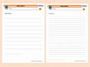 28 diary writing template ks1 recount writing frame for Diary writing template ks1