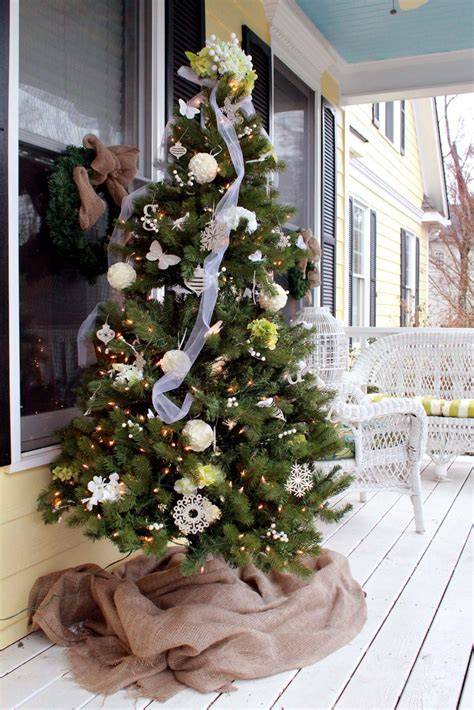 christmas decorating ideas   front porch