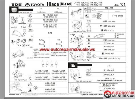 toyota hiace   workshop manual auto repair