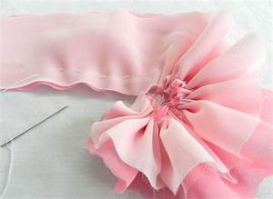 How To Make Handmade Flowers From Fabric | www.pixshark ...
