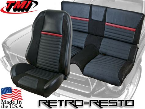 Upholstery Kit by 1969 70 Ford Mustang Mach 1 Sport R Seat Upholstery