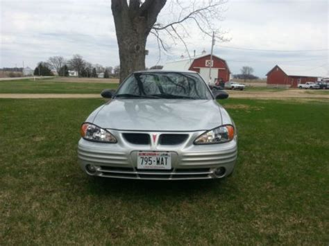 old car manuals online 2002 pontiac grand am head up display buy used 2002 pontiac grand am 4 door 5 speed manual 2 2 engine in sharon wisconsin united states