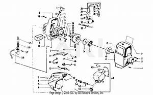 Poulan 4500 Gas Trimmer Parts Diagram For Starter  U0026 Shroud