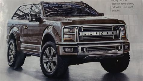ford bronco previewed  automobile   ford