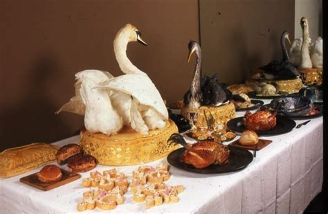 food history jottings  swan supper   thames