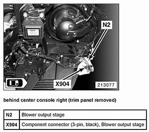 Instruction Manual On Replacing In C Blower Motor