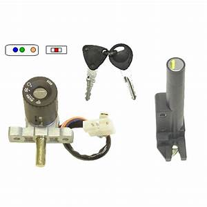 Aw Motorcycle Parts  Ignition Switch Lock Set Honda X8r