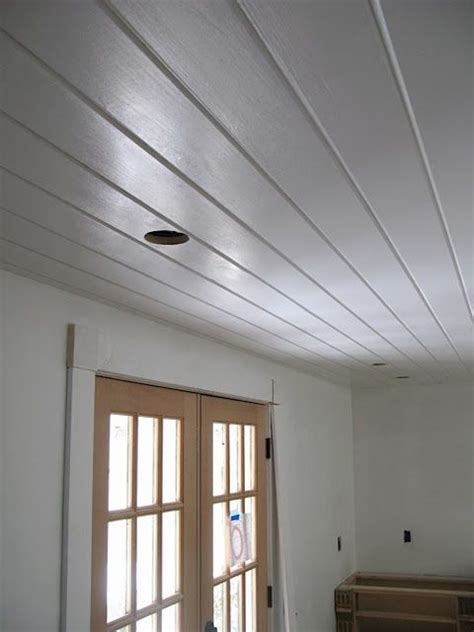 kitchen ceiling  cabinet paint tests tongue  groove