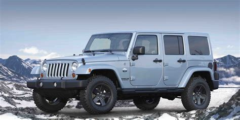 jeep wrangler models list in time for winter jeep releases two new arctic models