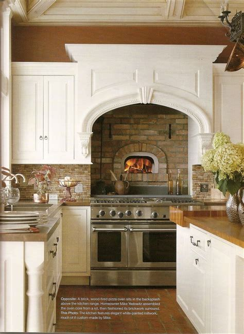 built in brick wood fire oven   A Cook's Kitchen, or just