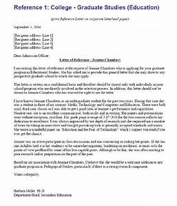 sample letter of reference college reference letter With letter of recommendation template for college admission