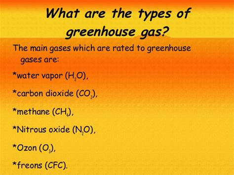What Is The Greenhouse Gas