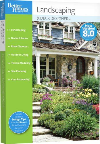 better homes and gardens landscaping and deck designer 8 0