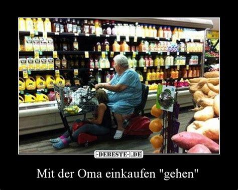mit der oma einkaufen gehen lustige bilder sprueche
