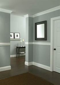 protect walls from scuffs and dents by installing chair rail moulding in high traffic areas