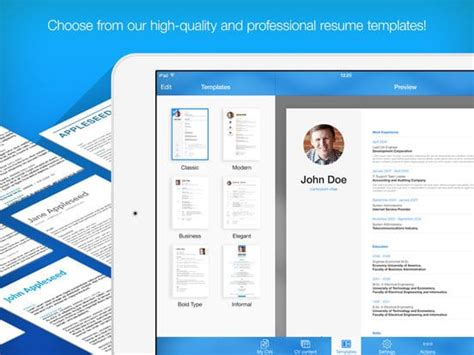 Resume Maker Pro by 7 Best Resume Apps For Android And Ios Updated 2018