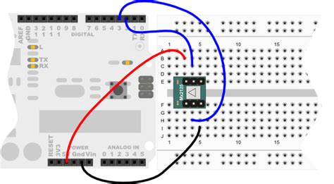 Memsic Dual Axis Accelerometer Learn Parallax