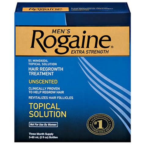 ROGAINE [E2]for Men Hair Regrowth Treatment, Extra