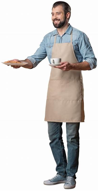 Coffee Transparent Waiter Cutout Serving Photoshop Cut
