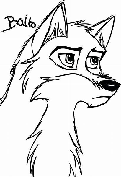 Wolf Coloring Pages Anime Tribal Drawing Wolves